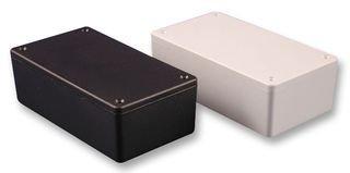 Hammond 1591XXMBK ENCLOSURE, PCB BOX, ABS, BLACK