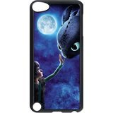 FEEL.Q- How to Train Your Dragon Toothless Personalized Hard Plastic Cover Case for iPod Touch 5 5th Generation