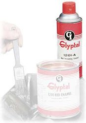 Glyptal Red Insulating Paint Aerosol 12.75 oz 1201A