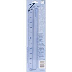 (C-Thru Bulk Buy Zero Centering Plastic Ruler 12 inch CR-12 (3-Pack))
