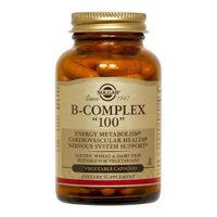 Solgar–B-Complex-100-Vegetable-Capsules–Promotes-Energy-Metabolism