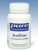 Pure Encapsulations - iode (iodure de potassium) 120 Vcaps