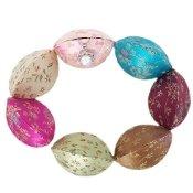 (Fortune Cookie Box 10 pcs Chinese brocade jewelry box)