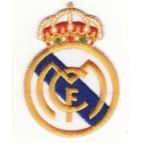 94972605e26 Ecusson brodé Ecussons Thermocollants REAL MADRID EL MCF FC  Amazon ...