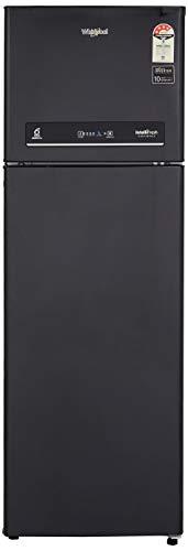 Whirlpool 292 L 4 Star ( 2019 ) Inverter Frost-Free Double Door Refrigerator (IF INV CNV 305 ELT BLACK SPARKLE (4S), Black Sparkle)