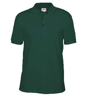 Anvil 6002 Adult Pique Polo - Forest Green, ()