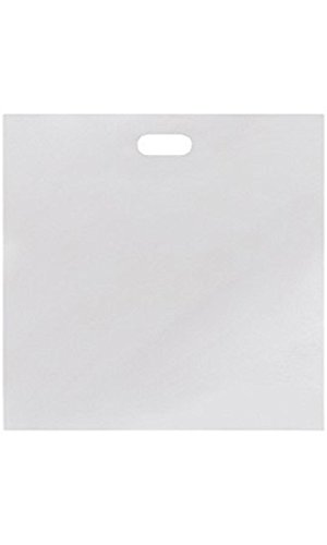 Jumbo Low Density White Merchandise Bags - Case of 500 by STORE001