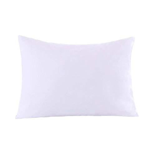 Royal Bedding 2 Pillow Protectors, Zippered Hypoallergenic Down Proof Pillow Covers, 600 Thread-Count - 100% Cotton Pillow Protector, White, King Size
