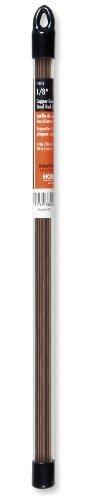Hobart 770513 Mild Steel Copper-Coated Oxy-Acetylene Welding Rod, 1/8-by-18-Inch by Hobart