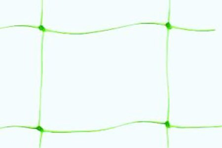 - SCHOME 1.7 x 4 m Plastic Pea and Bean Netting - Green Garden Netting Wide Fence Trellis Netting