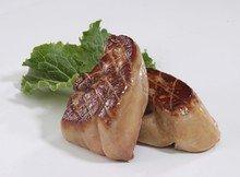 La Belle Flash Frozen Foie Gras Slices, 10 2-oz Slices