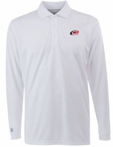 Antigua Carolina Hurricanes Long Sleeve Exceed Polo Shirt (Antigua Carolina Hurricanes Polo)