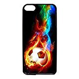 Ipod Touch 6th Generation Case Cover Durabledesign Phone Case Soccer Pattern Back Case Snap On Ipod Touch 6th Generation