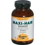 Country Life Maxi Hair Time Release, 90-Tablet, Health Care Stuffs