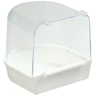 Badehaus XL weiß 13 x 13 x 12,5cm #10017706