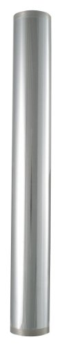 LDR 505 6225 Threaded Tube, 1-1/2-Inch x 12-Inch, Chrome Plated Brass by LDR Industries