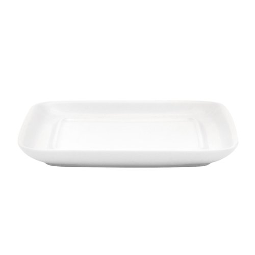 KAHLA Pronto Butter Dish Angular, White Color, 1 Piece by KAHLA - PORCELAIN FOR THE SENSES (Image #2)