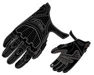 Fieldsheer Mistral Men's Leather On-Road Motorcycle Gloves - Black / Large - Fieldsheer Street Bike