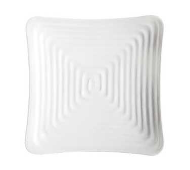 (GET Enterprises inc Milano Melamine Square Plate, 8.75 inch - 12 per case)