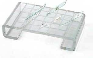 "UNICO 91400 Slide Drying Rack, 2.2"" Height, 8.5"" Width, 5"" Length"
