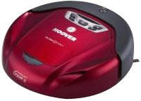Hoover RVC 0005 011, 0.3 l, red, 62 dB, 330 x 330 x 100 mm - Vacuum Cleaner
