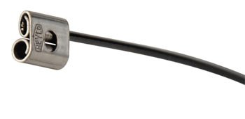 Heyco S6420 SunBundler STAINLESS STEEL WIRE CABLE TIES - BLACK VINYL JACKET (package of 100)