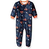 NFL Chicago Children Boys Blanket Sleeper, 12 Months, Bears
