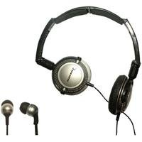 Soniq KABOOM! Headphone/Earphone Combo Pack, 18 Hz to 22 kHz Frequency Response, ()