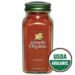 Simply Organic Cayenne Pepper Certified Organic Containers - 2.89 Oz (Pack of 2)