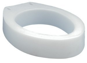 - Toilet Seat Raised Elongated - B30600 Carex Health Brands