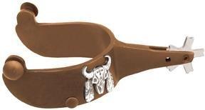 Abetta Antique Bull Spurs - Antique Brown - Men's