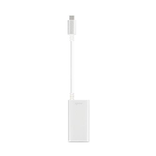 Moshi USB-C to Gigabit Ethernet Adapter - Silver