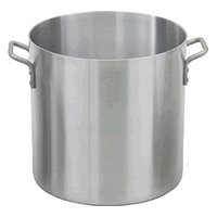40 Quart Aluminum Stock Pot - Royal Industries Heavy Weight Stock Pot, 40 qt, 14.6