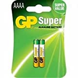 Replacement For 25A-C2 GP AAAA SUPER ALKALINE 2PK CARDED Battery 10 PACK
