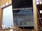 Modern Political Ideologies 9780631164524