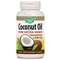 Nature's Way Coconut Oil 1000 mg Pure Extra Virgin Softgels - 120 Ea, 2 (Coconut Oil Softgels Natures Way)