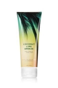 Bath Body Works Coconut Lime Breeze 8.0 oz Triple Moisture Body Cream (8 Ounces)