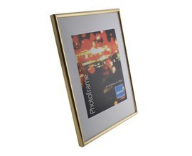Pack of 12 Quality A4 Certificate Photo Frames with Gold Border [21x30cm] by Shop Inc by shop inc
