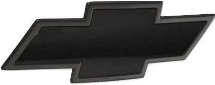 """Qbc Craft Chevy Bowtie Emblem Vinyl Overlay (3 Pack) Matte Black 3M Cut-Your-Own Car Wrap Kit DIY GM Logo Easy to Install air Release Film 12"""" x 4"""" Sheets (x3)"""