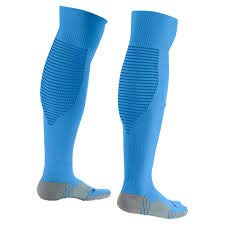 Nike Men's Matchfit Cushioned Over The Calf Soccer Socks-Italy Blue-Large by Nike