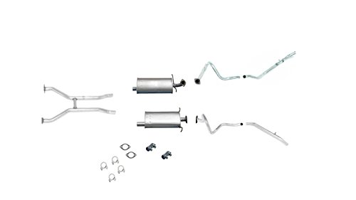 Crown Victoria Dual Exhaust (Mac Auto Parts 25550 Mercury Grand Marquis Crown Victoria Muffler Pipe DUAL Exhaust System)