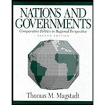 Nations and Governments : Comparative Politics in Regional Perspective, Magstadt, Thomas M., 031208644X