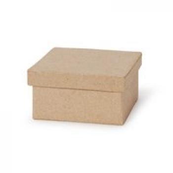 Small Square Paper Mache Boxes