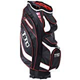 TTD TIANTIANDA Golf Cart Bag,7lb, EGHandy-9, 14 Way Full Length Divider, 10 Pockets (Black)