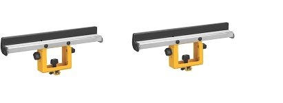 DEWALT DW7029 Wide Miter Saw Stand Material Support and Stop (2-Pack)