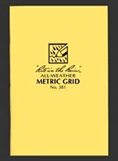 product image for Rite In The Rain Stapled Notebook - Metric Grid #381