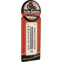 Harley-Davidson Motorcycles Retro Wall Thermometer