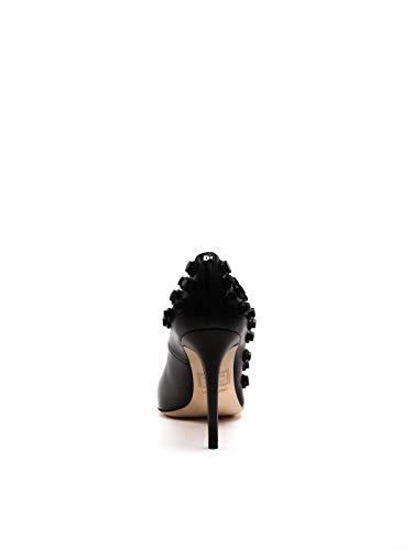 Cuir Noir W16a2012182124 Dsquared2 Escarpins Femme f4Oxt