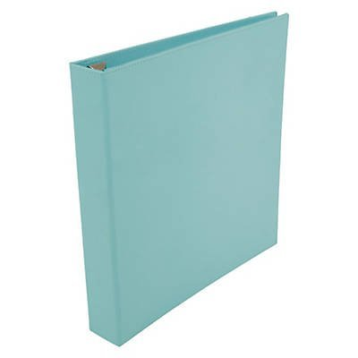 Office by Martha Stewart™ 1'' Binder, 3-Ring, Blue (Blue)