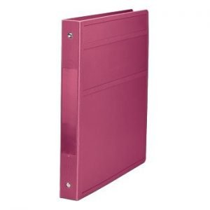 Carstens Heavy-Duty 3-Ring Binder - Side Opening (Burgundy, 1 inch) by Carstens